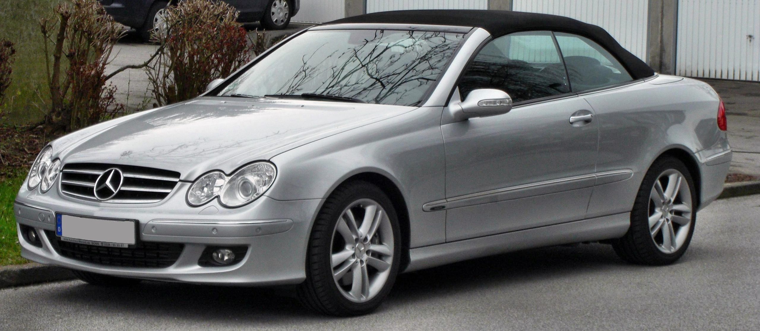 Mercedes CLK Engines